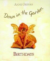 Orange Fairy Baby Birthdays Anne Geddes Book NEW HB