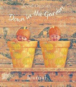 Pumpkin Baby Down in the Garden Journal Anne Geddes New