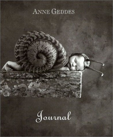 Sleeping Snail Baby Anne Geddes HB Journal NEW Mint