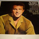 "Bobby Vinton 12"" LP Tell Me Why"