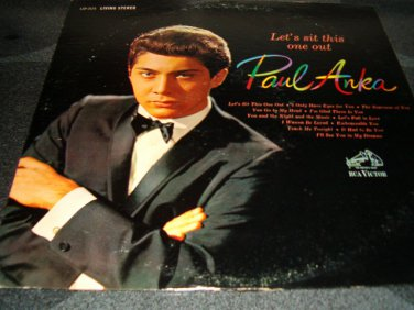 """Paul Anka 12"""" Lp Let's Sit This One Out"""