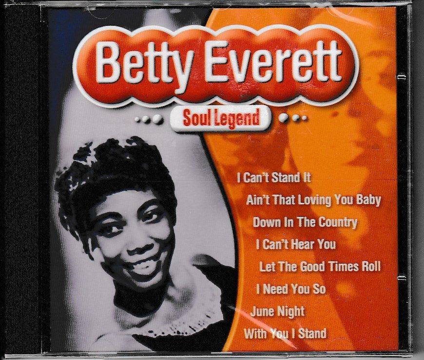 Betty Everett CD Soul Legend