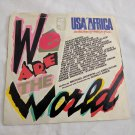 "We Are The world various Artists 45 7"" Pop Rock Soul US704839"