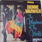 Dionne Warwick The windows Of The World Scepter Records LP Pop