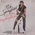 Rick Springfield I've Done Everything For You Pop Rock RCA PB12166