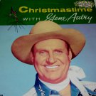 "Christmas Time With Gene Autry 12"" LP Pop/Christmas"
