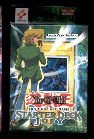 YuGiOh JOEY STARtER DECK UNLIMITED EDITION FREE SHIPPING