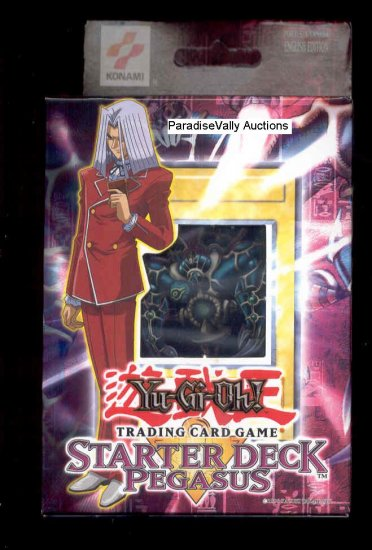 YuGiOh PEGASUS STARTER DECK UNLIMITED EDITION   FREE SHIPPING