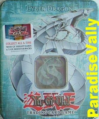CYBER DRAGON 2006 YU-GI-OH COLLECTORS TIN