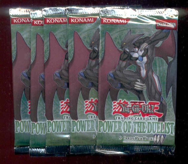 POWER OF THE DUELIST 5 PACK LOT