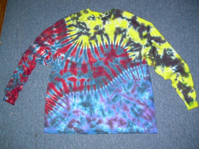 Tie Dye Long Sleeve Shirt X-Large #2