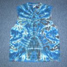 Tie Dye Sleeveless T-Shirt Large #1