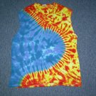Tie Dye Sleeveless T-Shirt Large #13