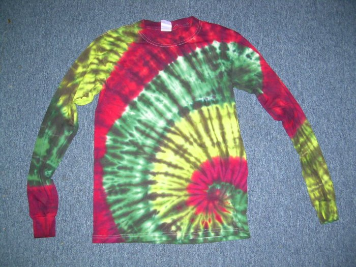 Tie Dye Long Sleeve Shirt Small #5
