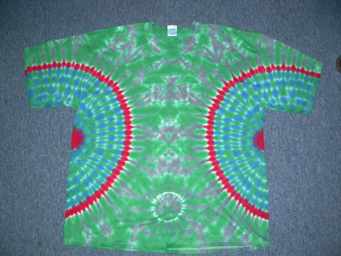 Mens Tie Dye Short Sleeve T-Shirt XX-Large #5