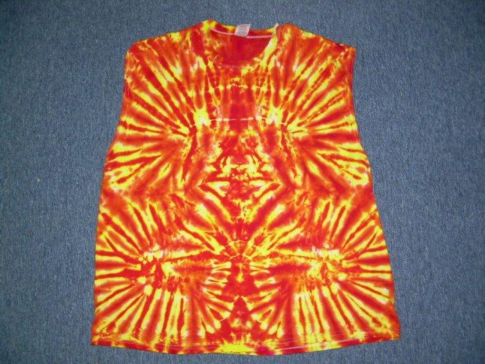 Tie Dye Sleeveless T-Shirt XX-Large #3