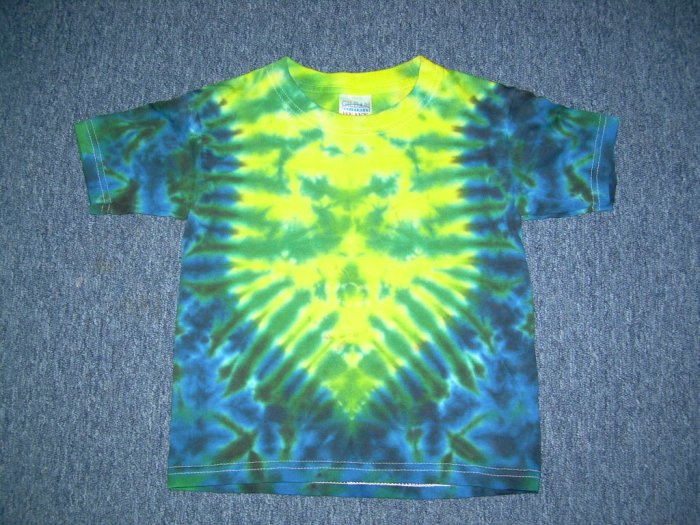 Tie Dye Youth Shirt 2-4 X-Small #3