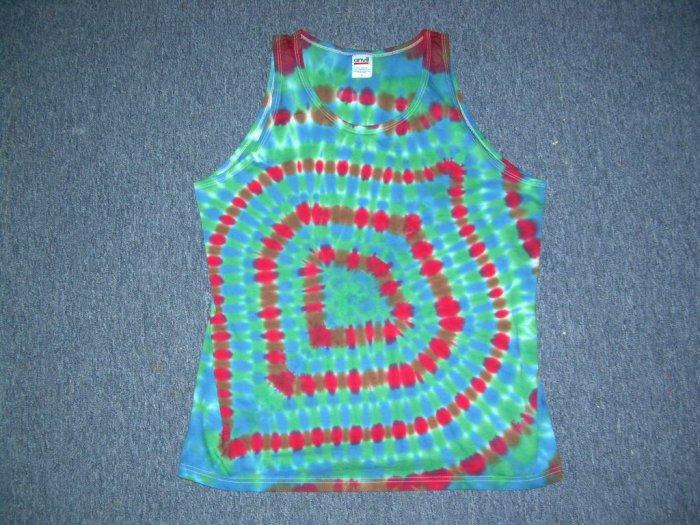 Tie Dye Tank Top Large #7