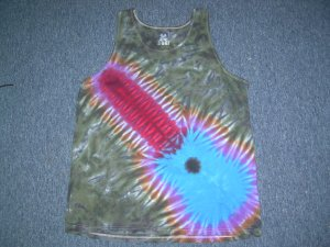 Tie Dye Tank Top Large #9