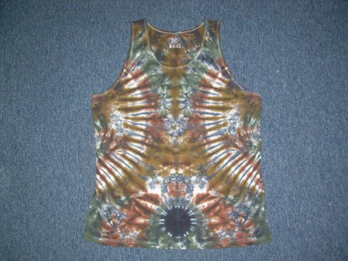 Tie Dye Tank Top Large #11