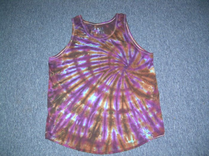 Medium Mens Tie Dye Tank Top #6