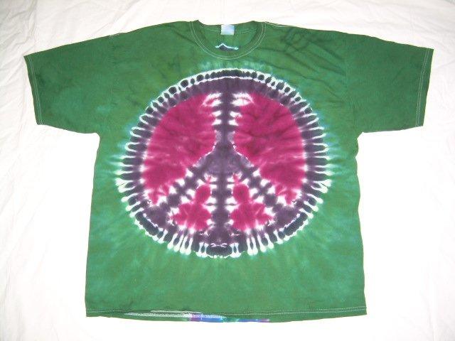 Mens Tie Dye Short Sleeve T-Shirt XX-Large #20