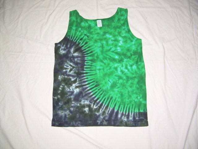 Womens Tie Dye Tank Top Small #6