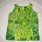 Womens Tie Dye Tank Top Medium #1