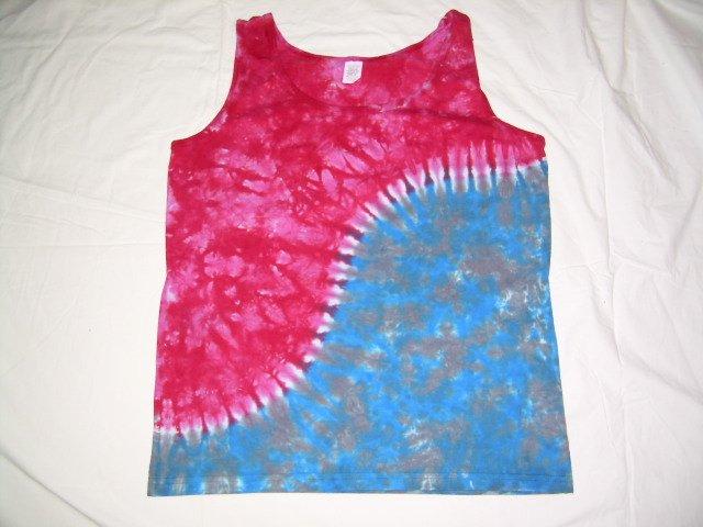 Womens Tie Dye Tank Top Medium #6