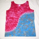 Womens Tie Dye Tank Top Medium #6