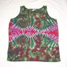 Womens Tie Dye Tank Top X-Large #1