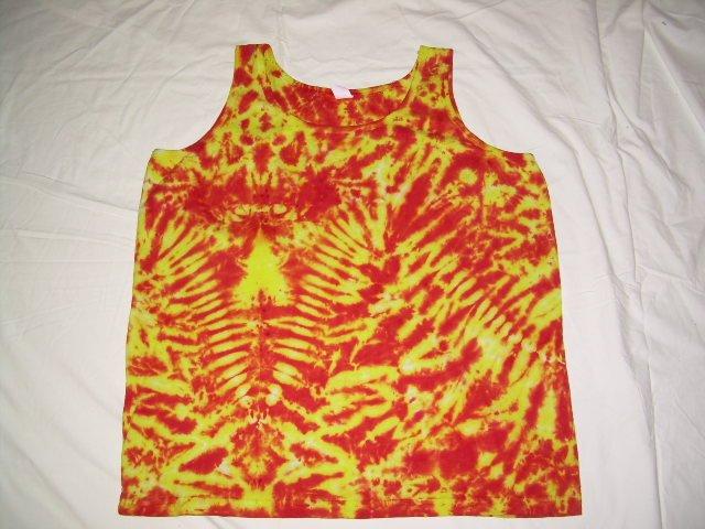Womens Tie Dye Tank Top X-Large #5