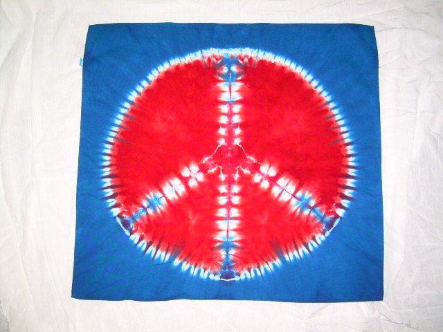 Tie Dye Bandanna #10