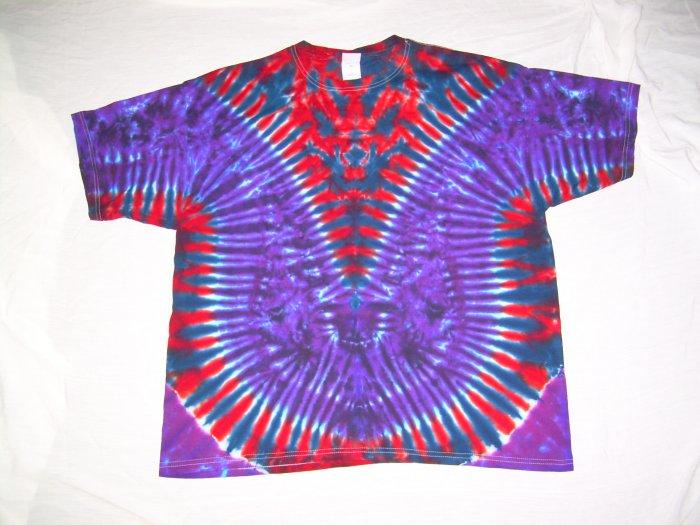Mens Tie Dye Short Sleeve T-Shirt XX-Large #21