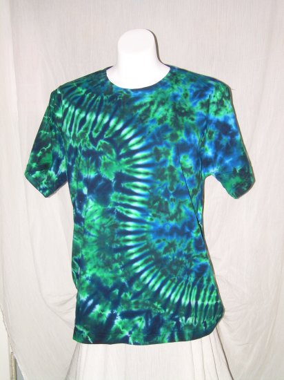 Womens Tie Dye Scoop Neck T -Shirt X-Large #8