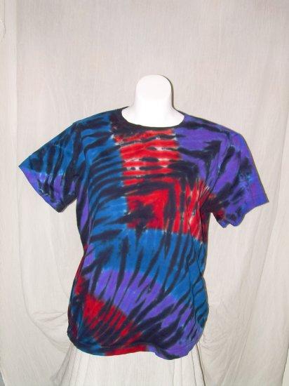 Womens Tie Dye Scoop Neck T -Shirt X-Large #11