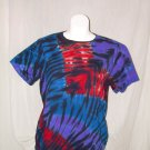 Womens Tie Dye Scoop Neck T -Shirt X-Large #11