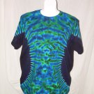 Womens Tie Dye Scoop Neck T -Shirt X-Large #12