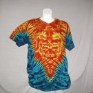 X-Large V-Neck Womens Tie Dye T-Shirt  #1