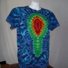 Large Womens Short Sleeve Tie Dyed T-Shirt #4