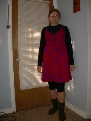 Size 10 Surplice Dress Womens Tie Dye #02
