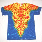 Large Mens Short Sleeve Tie Dye T-Shirt  #65