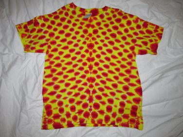 Youth Large(14-16) Short Sleeve T-Shirt Tie Dye #10