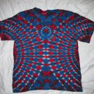 Youth Large(14-16) Short Sleeve T-Shirt Tie Dye #11