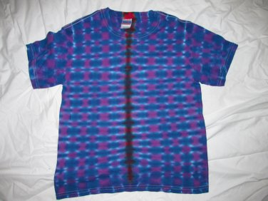 Youth Large(14-16) Short Sleeve T-Shirt Tie Dye #12