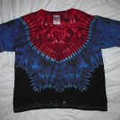 Youth Medium (10-12) Short Sleeve T-Shirt Tie Dye #07