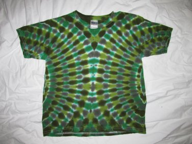 Youth Medium (10-12) Short Sleeve T-Shirt Tie Dye #06