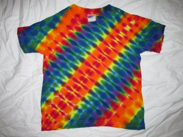 Youth Small (6-8) Short Sleeve T-Shirt Tie Dye #11