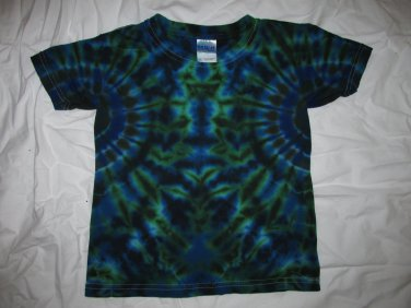Youth X-Small (2-4) Short Sleeve T-Shirt Tie Dye #09