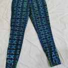 Womens X-Large (15-17) Stretch Leggings Tie Dye #04